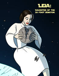 Giant Leia: The ultimate power in the universe! by MisterBigRed