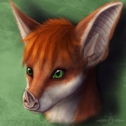 Commission for Aerys by Ykoriana
