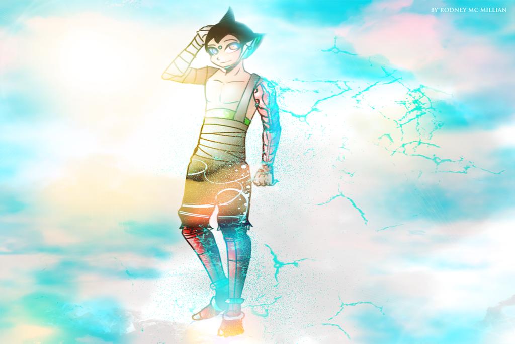 Astro Boy Teenageger version by rodneywoof