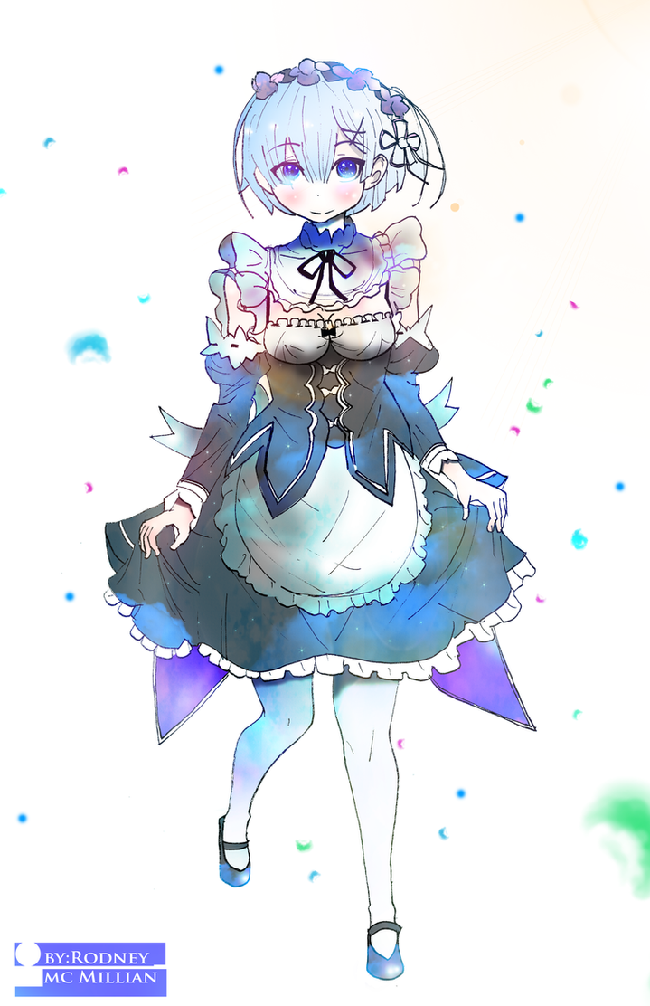 Rem -(Re:ZERO Starting Life in Another World) by rodneywoof