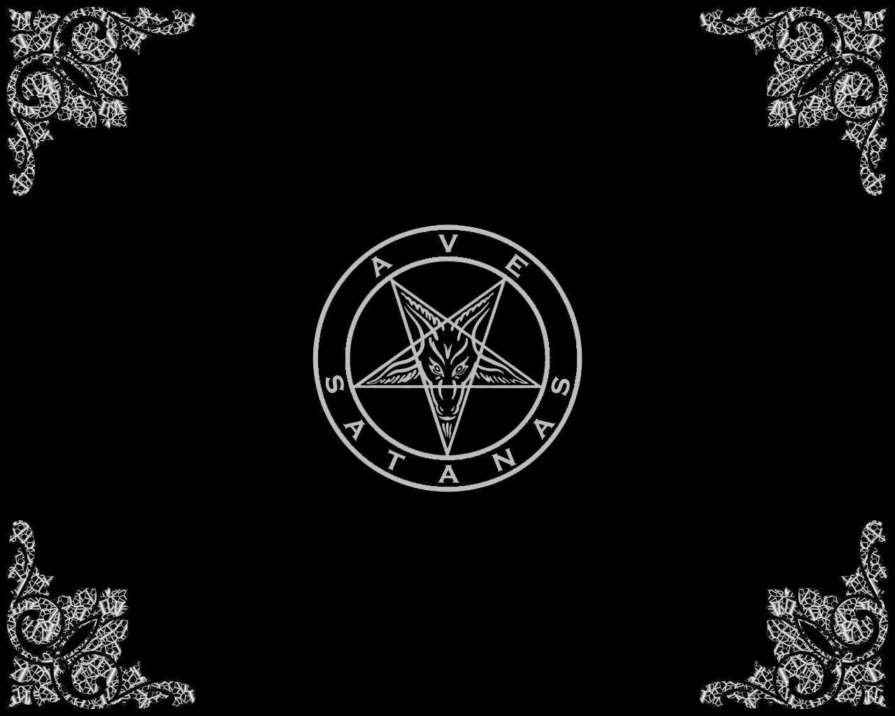 Ave Satanas Wallpaper by NecroticAlchemist
