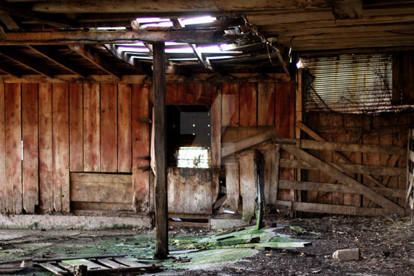 Old Barn by SweetNerdyCakes
