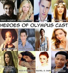 Heroes of Olympus Cast
