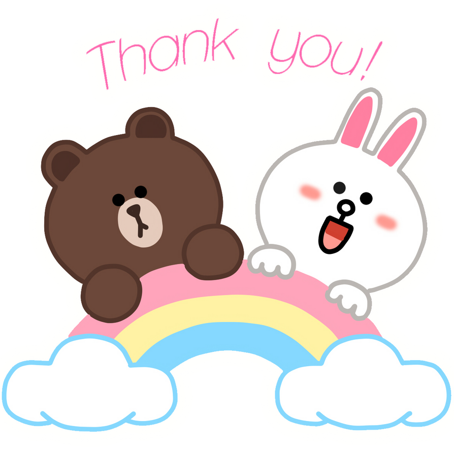 Line Art Thank You : Thank you by actualonodera on deviantart