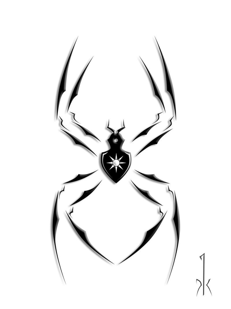 Spider 2 - tattoo version by
