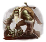Halforc - Orc Slayer