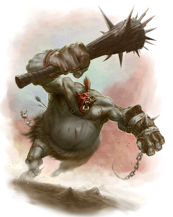 Orc Rage Warrior by ScottPurdy