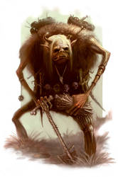 Troll Bone Collector by ScottPurdy