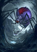 Giant Spider by ScottPurdy
