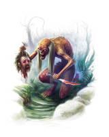 Juju Zombie by ScottPurdy