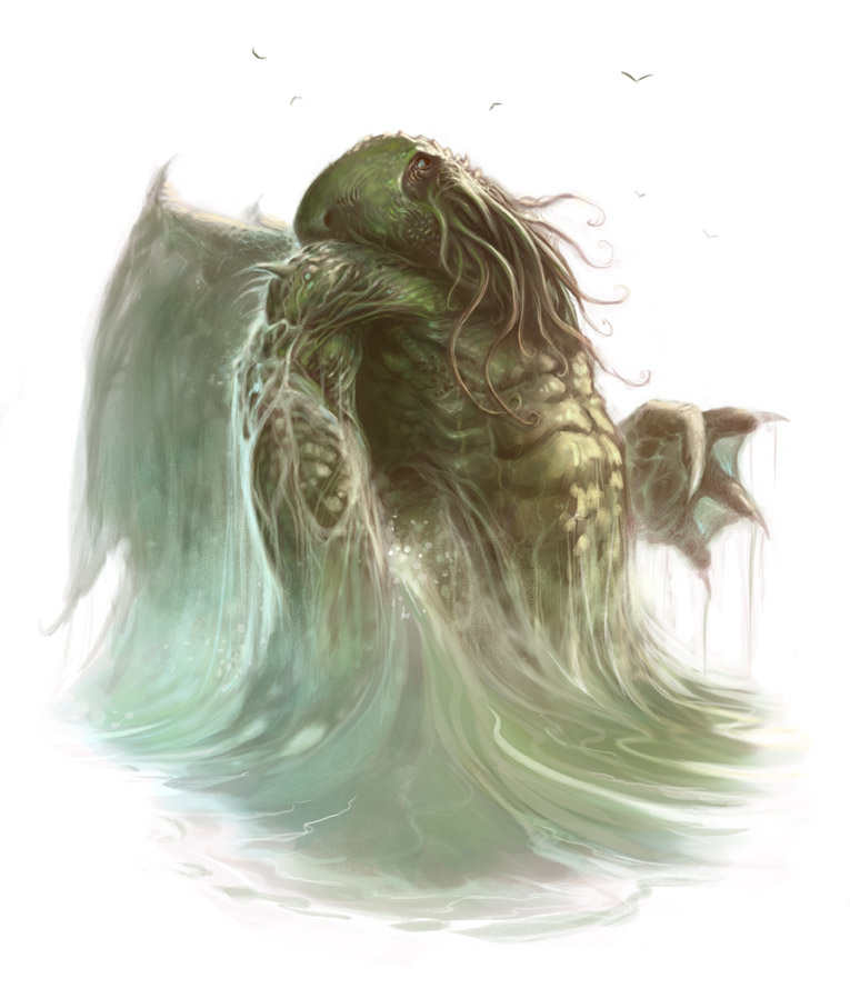 Star Spawn of Cthulhu by ScottPurdy