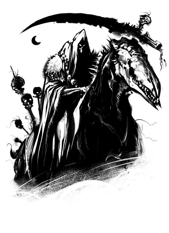 Charon On Horse