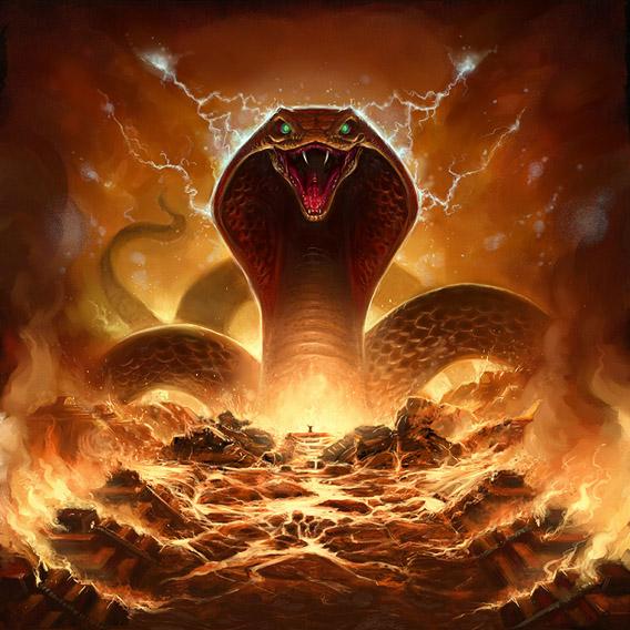 Apophis serpent géant Pharaonchic