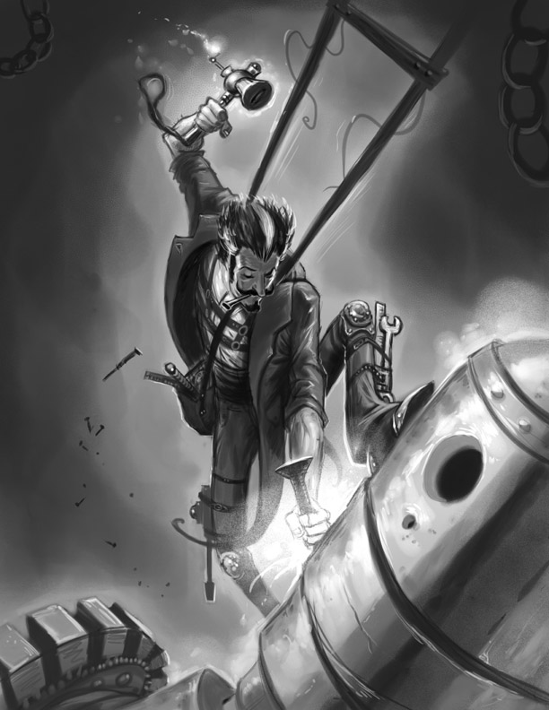 Victoriana Noble Tinkerer by ScottPurdy