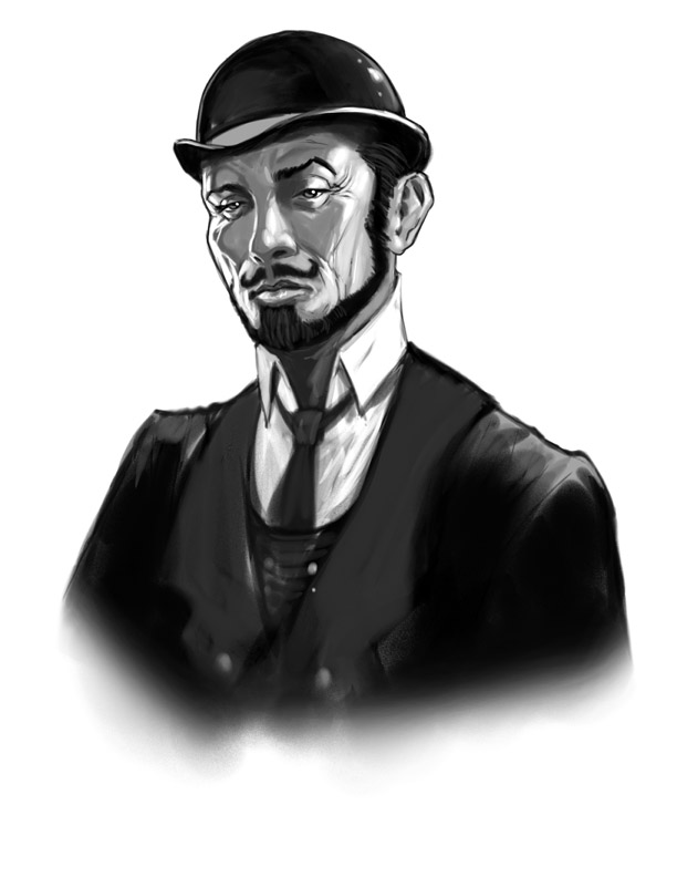 Victoriana Detective Inspector Henry Anson by ScottPurdy