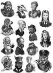 Victoriana -Cast Of Characters