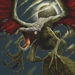 Cthulhu Tales - Hybrid Winged Thing