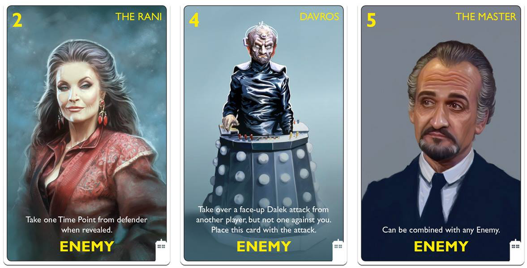 Dr Who Card Game Classic Doctors Edition - 01 by ScottPurdy