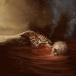 Cthulhu Tales - Half Eaten Body