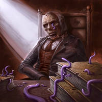 Cthulhu Tales - Worm-Eaten Tomes by ScottPurdy