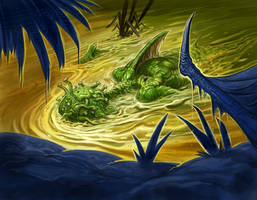 Cthulhu Tales - Unprecedented Floods by ScottPurdy