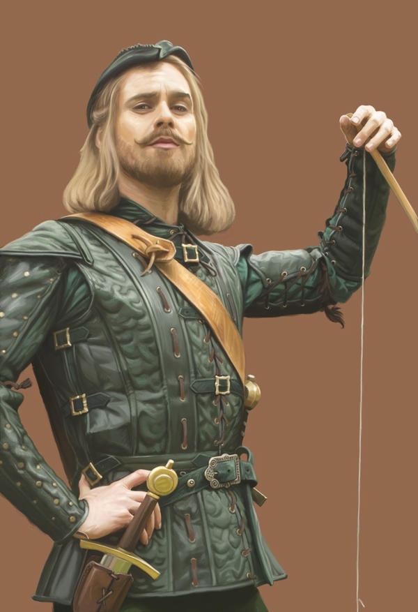 Doctor Who Card Game - Robin Hood by ScottPurdy
