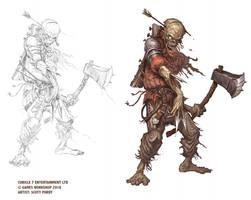 Warhammer Fantasy RPG 4TH EDITION - Zombie