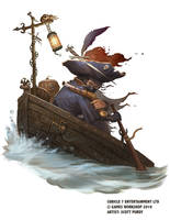 Warhammer Fantasy Role-play - River Woman by ScottPurdy