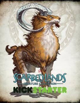 Scarred Lands Kickstarter - AMALTHEAN GOAT