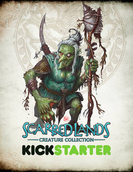 Scarred Lands Kickstarter - BRINE HAG