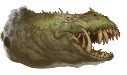 Beowulf - Dragon Head