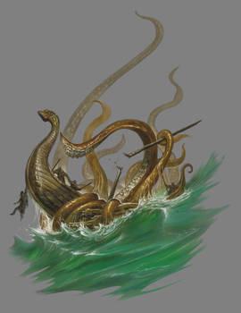 Beowulf Age of Heroes - Kraken
