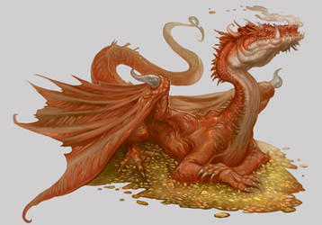 Ligdraca Fire Dragon - Beowulf Age of Heroes