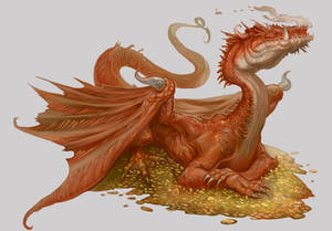 Ligdraca Fire Dragon - Beowulf Age of Heroes