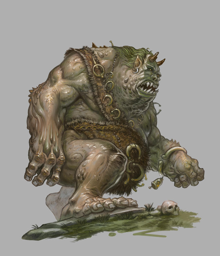Beowulf Age of Heroes - Ogre