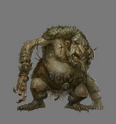Beowulf Age of Heroes - Troll