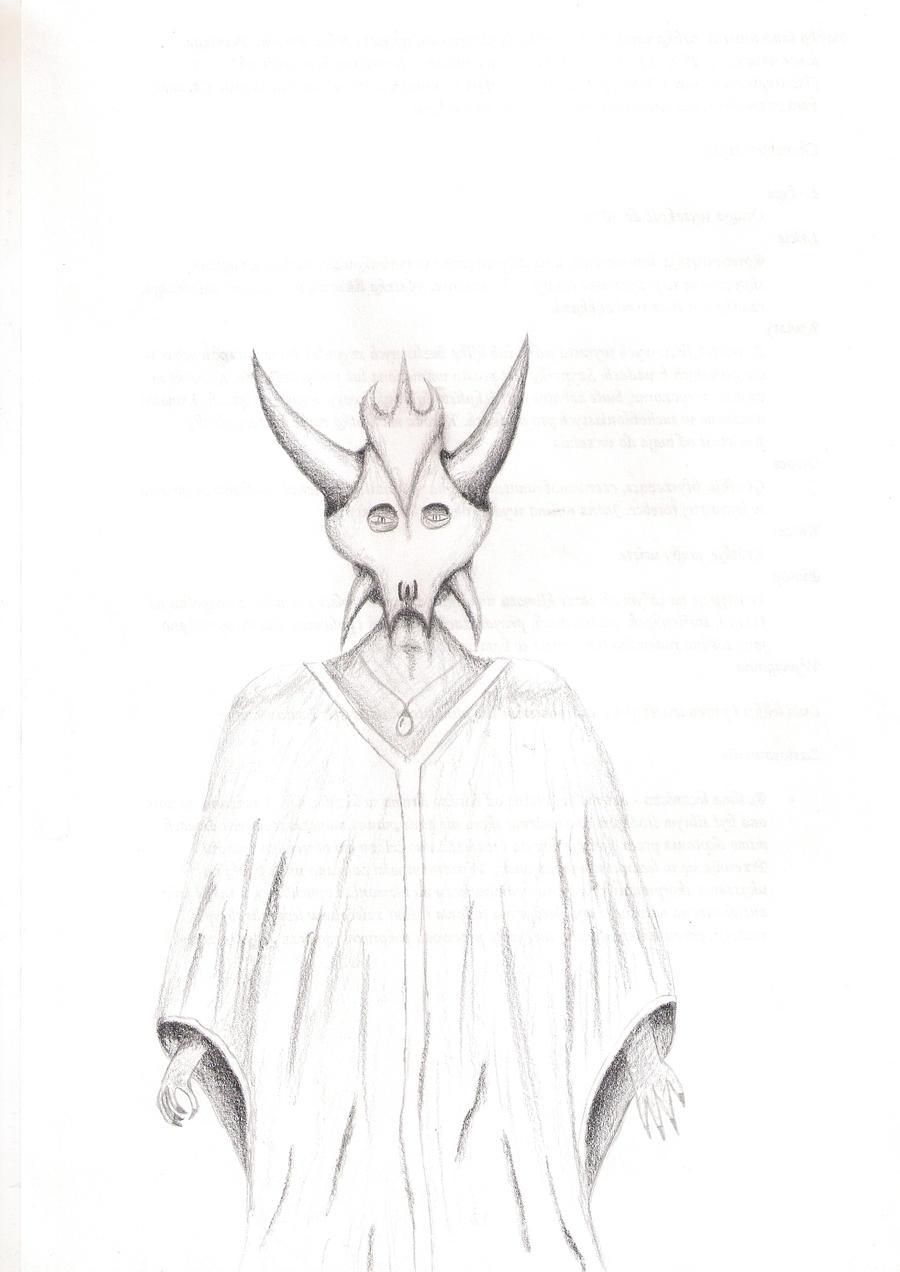 Kaz-Aruth Shaman by InvisibleSunrise