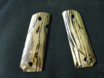 Spalted Grips