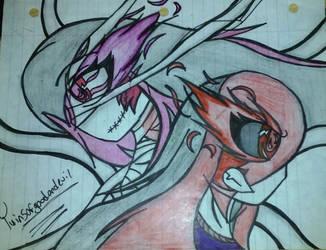 Evil Mother Vs Hinami by borisairay12
