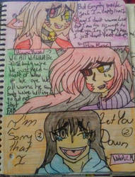 Diffirent songs and different oc by borisairay12