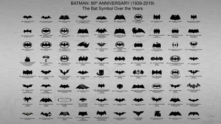 Batman 80th anniversary (1939-2019): Batman Symbol
