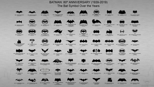 Batman 80th anniversary (1939-2019): Batman Symbol