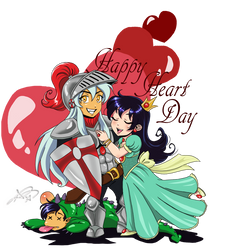 Happy Heart Day Inuyasha by roryalice