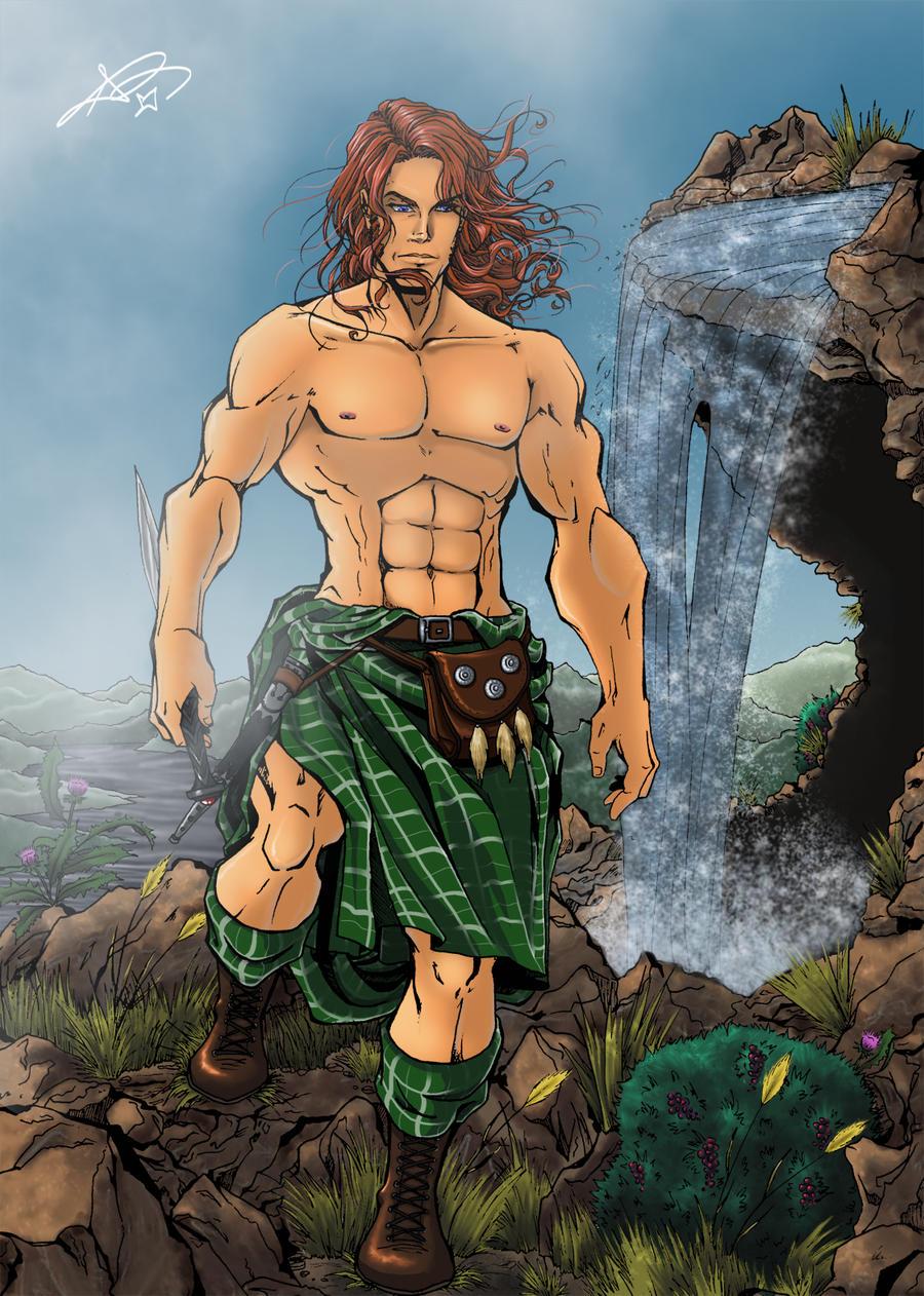 Jamie Fraser - Outlander by roryalice
