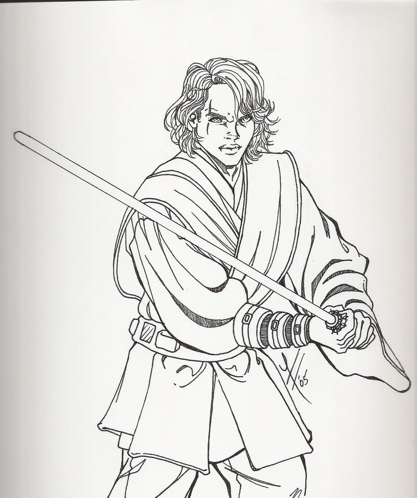 Anakin-Skywalker by roryaliceAnakin Skywalker Coloring Pages