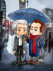 Mystrade: You look like you could use some shelter by roryalice