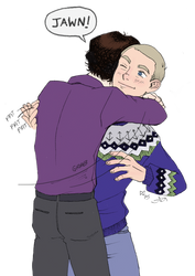 johnlock: there there big guy by roryalice