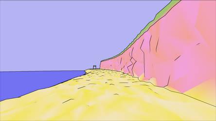Seaside - Conrun Virutal Gym by lovelyHanibal