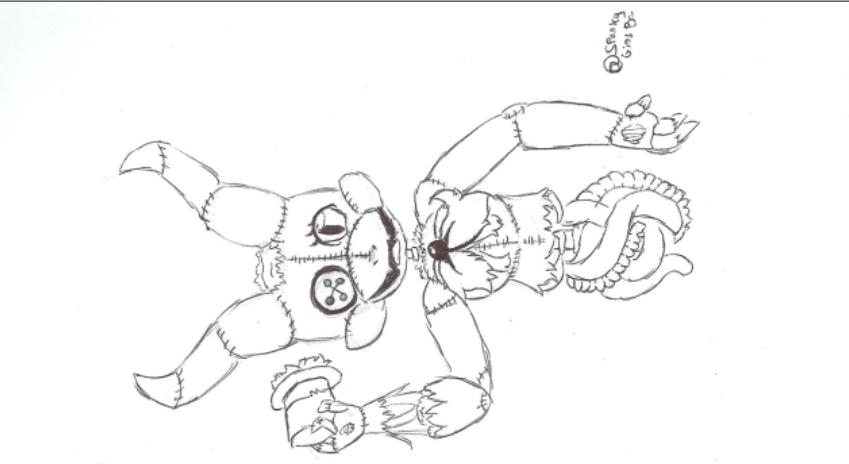 Sketch w gore by SparkyGirlBr