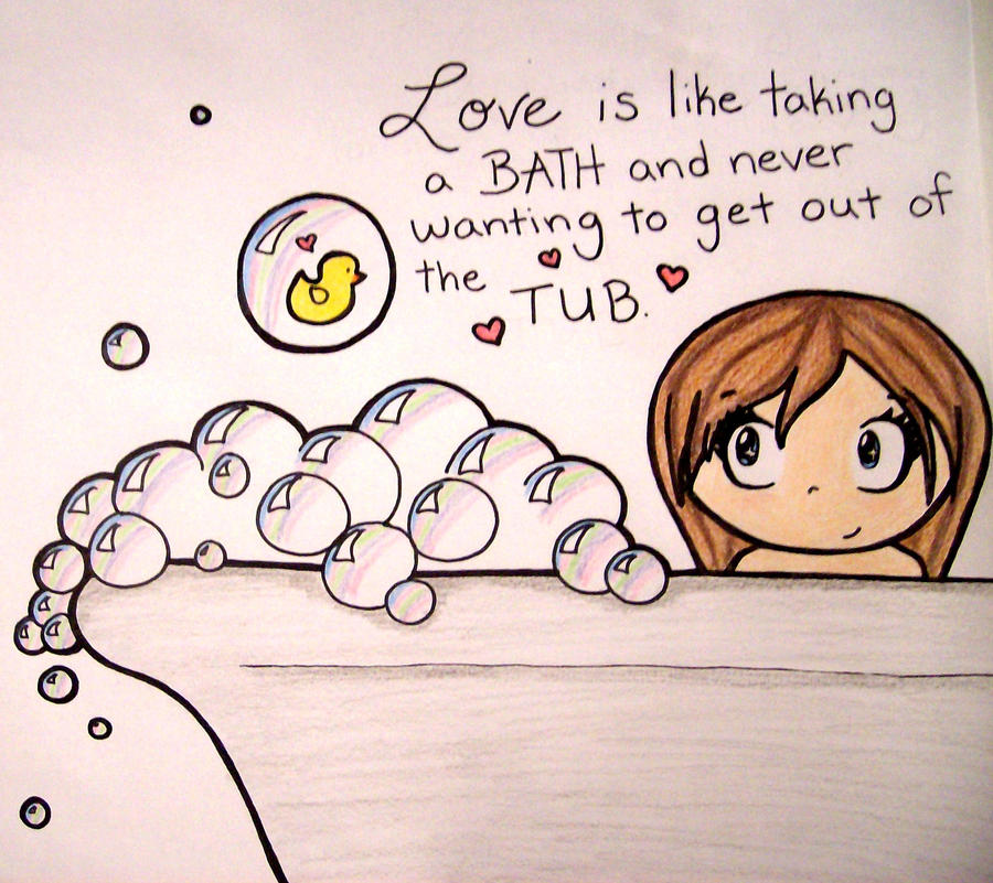 Chibis love bubbles by girlinthehoodie on DeviantArt